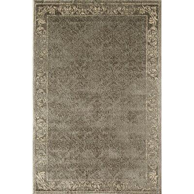 Gray Area Rug Rug Size: 53 x 710