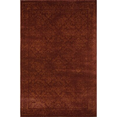 Rust Area Rug Rug Size: Rectangle 2 x 211