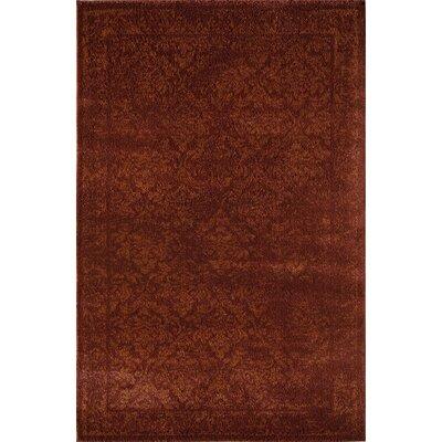 Rust Area Rug Rug Size: 2 x 211
