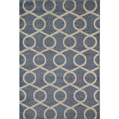 Blue Area Rug Rug Size: 710 x 1010