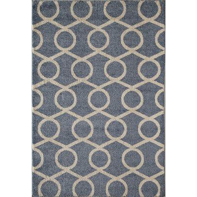 Blue Area Rug Rug Size: Runner 23 x 710