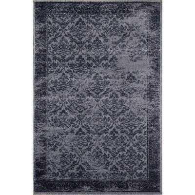 Navy Area Rug Rug Size: Rectangle 53 x 710
