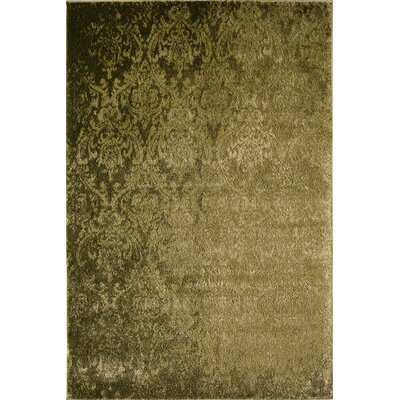 Olive Green Area Rug Rug Size: 53 x 710