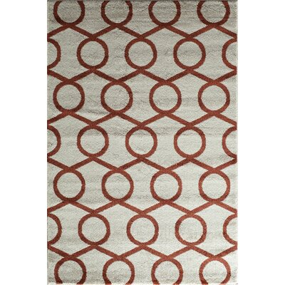 Cream Area Rug Rug Size: Runner 23 x 710