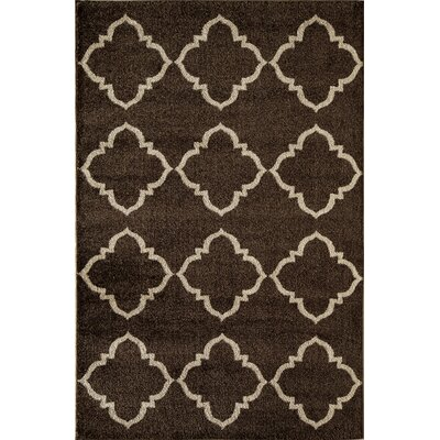Brown Area Rug Rug Size: Rectangle 2 x 211