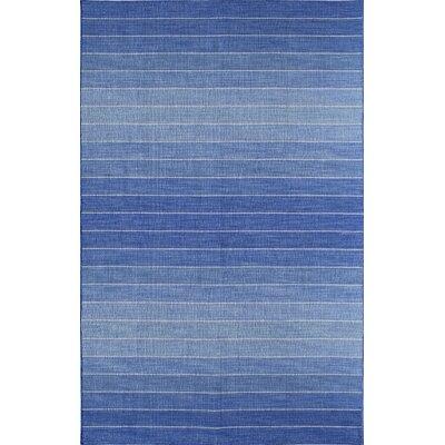 Blue Area Rug Rug Size: 8 x 10