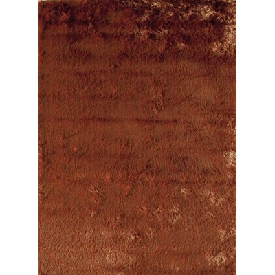 Orange Area Rug Rug Size: Rectangle 7 x 9