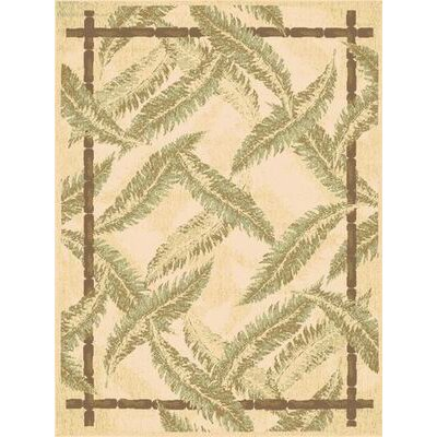 Ivory Area Rug Rug Size: 67 x 96