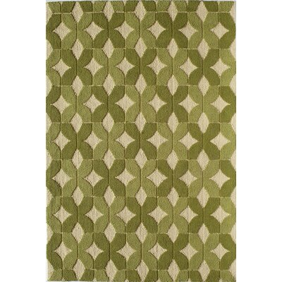 Green Indoor/Outdoor Area Rug Rug Size: 26 x 36