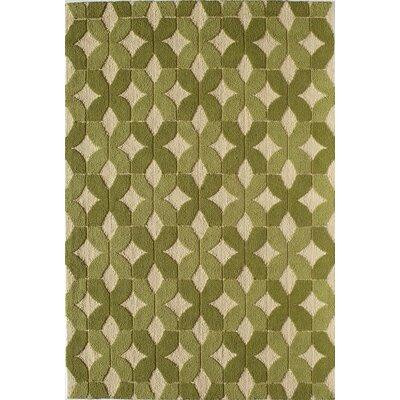 Green Indoor/Outdoor Area Rug Rug Size: 5 x 76