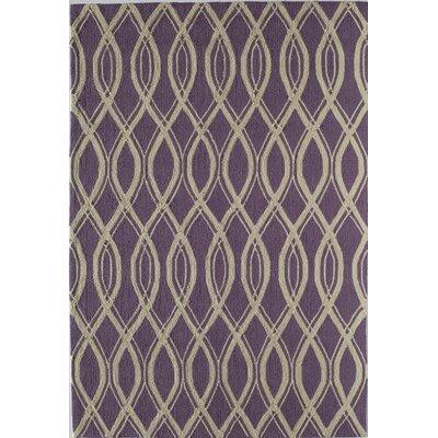 Purple Indoor/Outdoor Area Rug Rug Size: 26 x 36