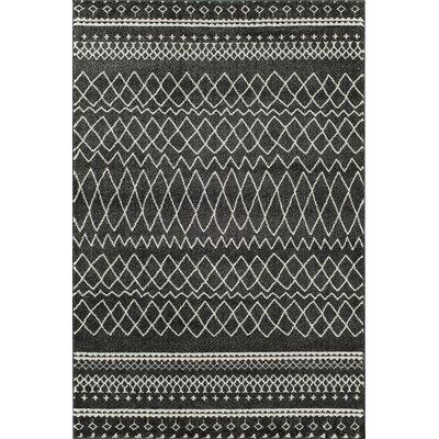 Charcoal Area Rug Rug Size: 2 x 211