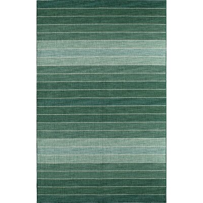 Green Area Rug Rug Size: 8 x 10