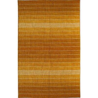 Orange Area Rug Rug Size: 8 x 10
