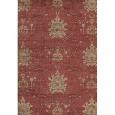 Red Area Rug Rug Size: 53 x 710