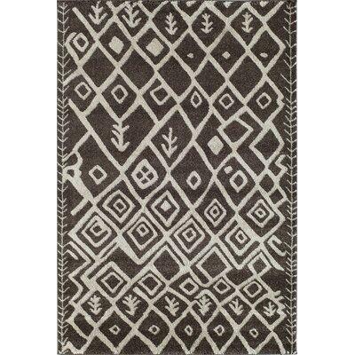 Brown Area Rug Rug Size: 311 x 53