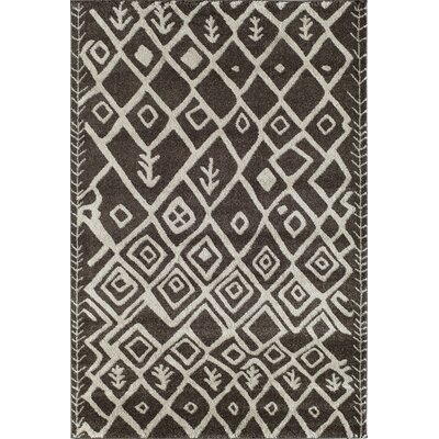 Brown Area Rug Rug Size: 2 x 211