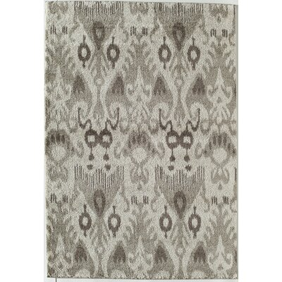 Taupe Area Rug Rug Size: 2 x 211