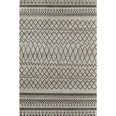 Grey Area Rug Rug Size: 710 x 1010