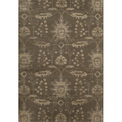 Brown Area Rug Rug Size: 910 x 132