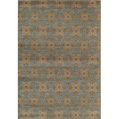 Light Blue/Gray Area Rug Rug Size: 910 x 132