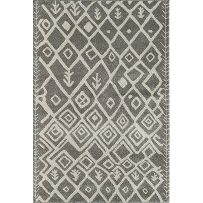 Light Grey Area Rug Rug Size: 53 x 710