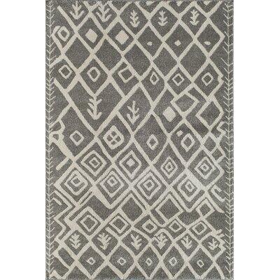 Light Grey Area Rug Rug Size: 710 x 1010