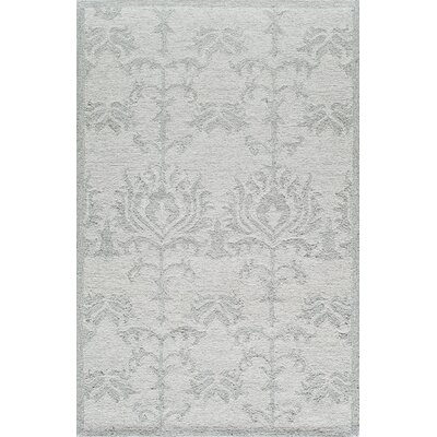Hand-Tufted Ivory Area Rug Rug Size: Rectangle 8' x 10'