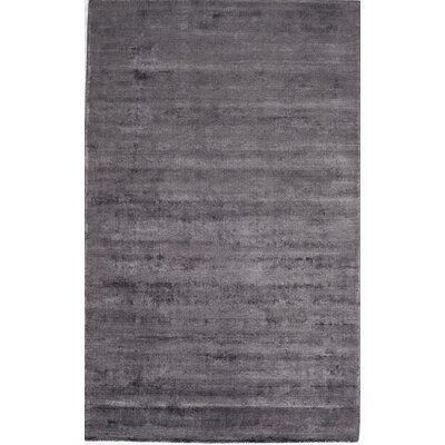 Hand-Tufted Gunmetal Area Rug Rug Size: Rectangle 5 x 8