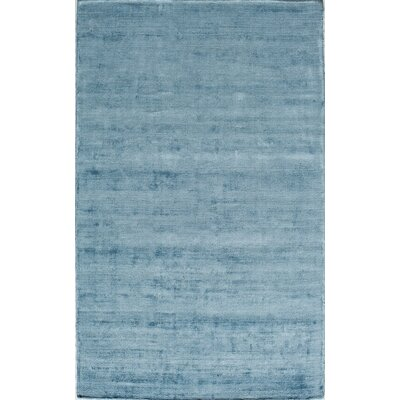 Hand-Tufted Blue Area Rug Rug Size: Rectangle 5 x 8