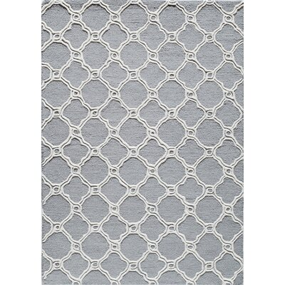 Hand-Tufted Coastal Area Rug Rug Size: 8 x 10