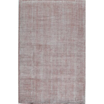 Hand-Tufted Crimson Area Rug Rug Size: 2 x 3