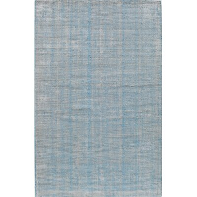 Hand-Tufted Turquoise Area Rug Rug Size: 5 x 8