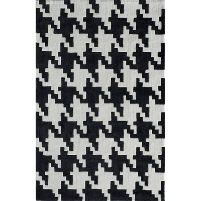 Hand-Tufted Onyx Area Rug Rug Size: Rectangle 5 x 8