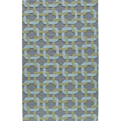 Hand-Tufted Indoor/Outdoor Area Rug Rug Size: 5 x 8
