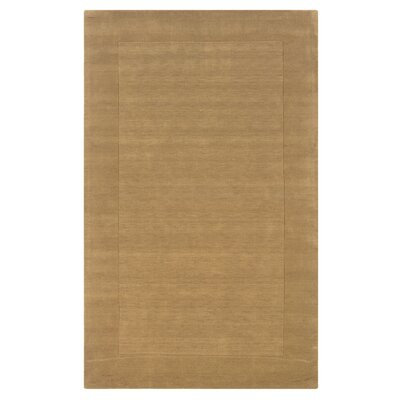 Hand-Woven Latte Area Rug Rug Size: 2' x 3'