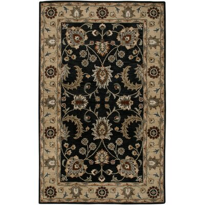 Hand-Tufted Blue/Beige Area Rug