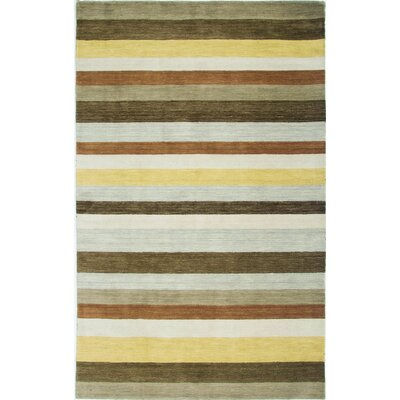 Handmade Area Rug Rug Size: Rectangle 5 x 8