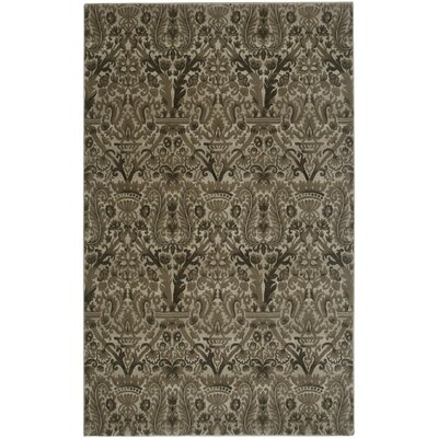 Ivory Area Rug Rug Size: 92 x 126