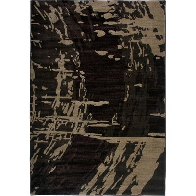 Brown Area Rug Rug Size: Rectangle 67 x 96
