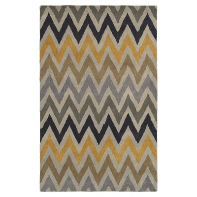Hand-Tufted Area Rug Rug Size: 5 x 8