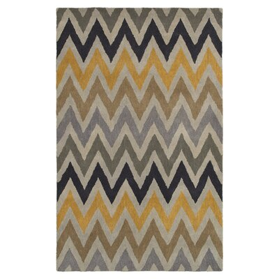 Hand-Tufted Area Rug Rug Size: Rectangle 9 x 12