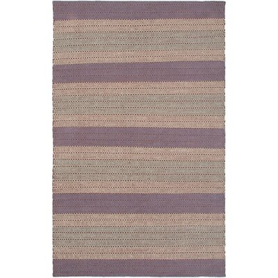 Hand-Woven Plum Area Rug Rug Size: Runner 26 x 8