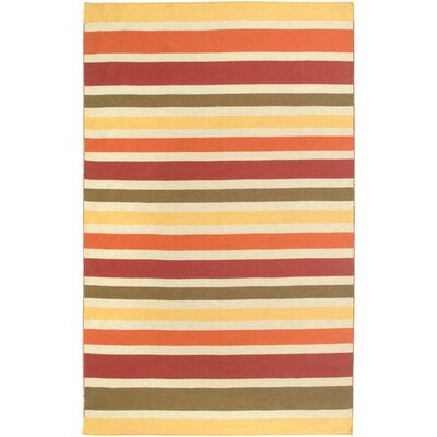 Hand-Woven Area Rug Rug Size: Rectangle 8 x 10