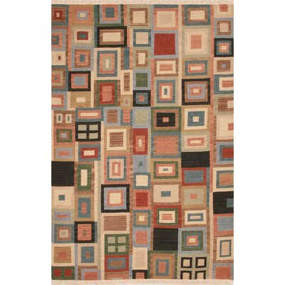Hand-Woven Area Rug Rug Size: Rectangle 5 x 8