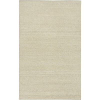 Hand-Tufted White Area Rug Rug Size: 2' x 3'