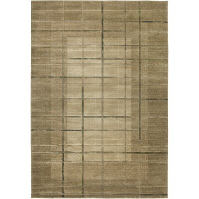 Hand-Woven Cream Area Rug Rug Size: Rectangle 4 x 57