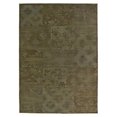 Hand-Woven Gray Area Rug Rug Size: Rectangle 67 x 96
