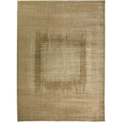 Hand-Woven Cream Area Rug Rug Size: Rectangle 67 x 96