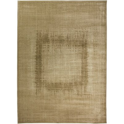 Hand-Woven Cream Area Rug Rug Size: Runner 23 x 77